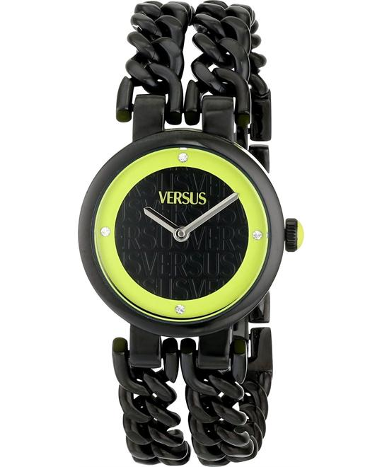 Versus Berlin Back Black Ladies Watch 30mm