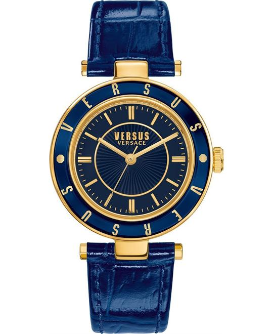 Versus by Versace Logo Blue Women's Watch 34mm