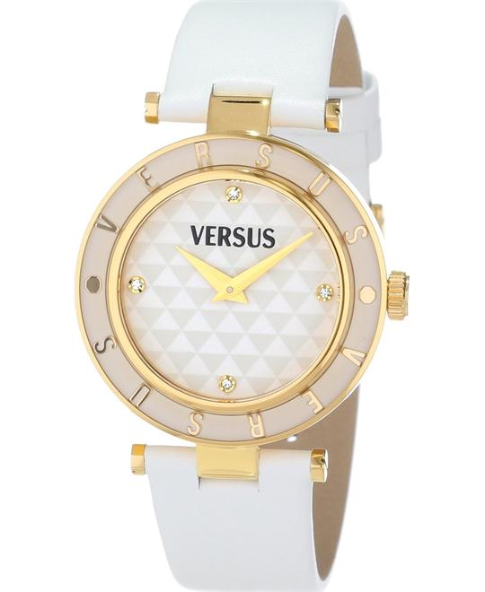 Versus by Versace Logo White Gold 34mm