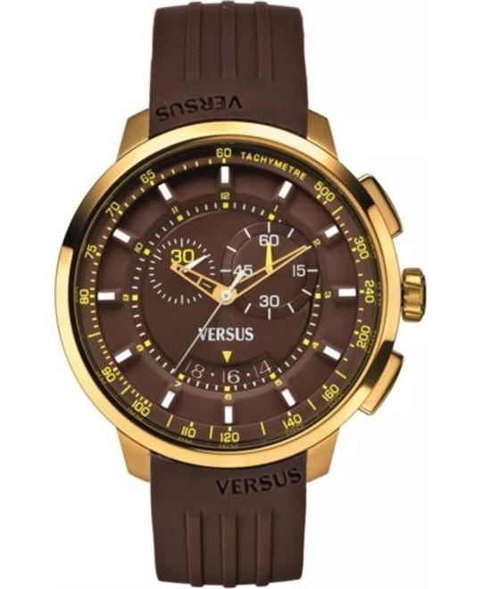 Versus by Versace Manhattan Gold Ion-Plated Watch 44mm
