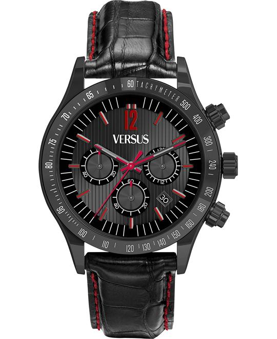 Versus by Versace Unisex Leather 44mm