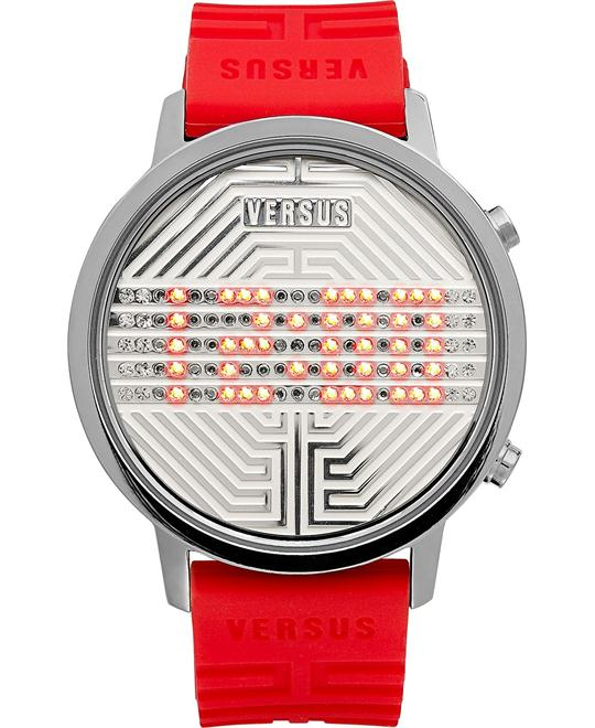 Versus by Versace Unisex Rubber Strap 41mm