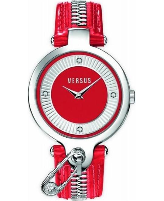 Versus by Versace Women's KEY BISCAYNE Red Watch 37MM