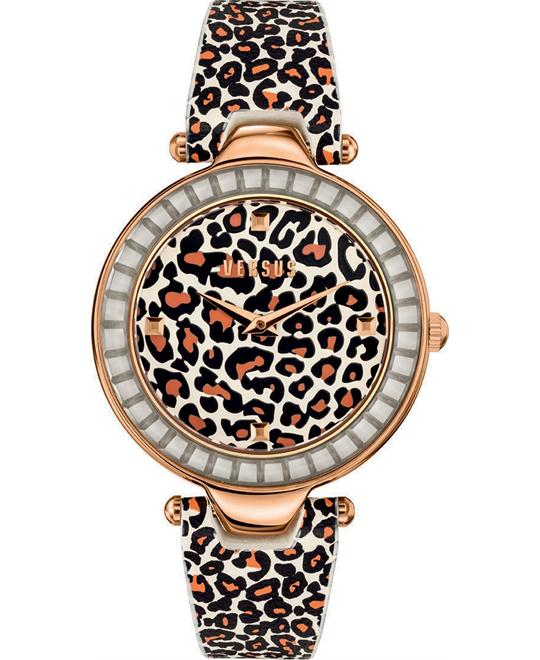 Versus by Versace Women's Leather 38mm