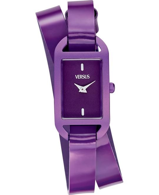 Versus by Versace Women's Leather Strap 26x20mm