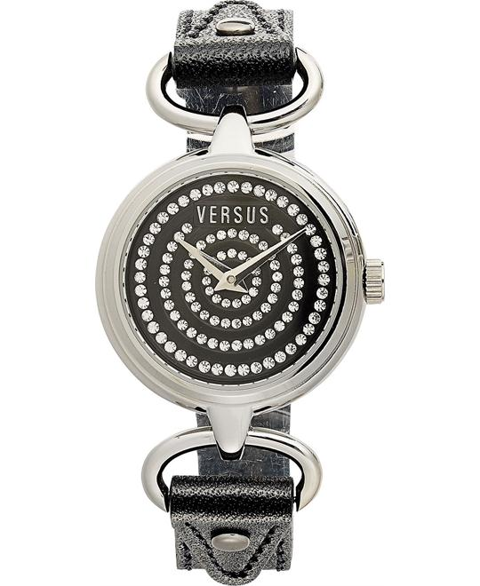 Versus by Versace Women's Leather Strap 30mm