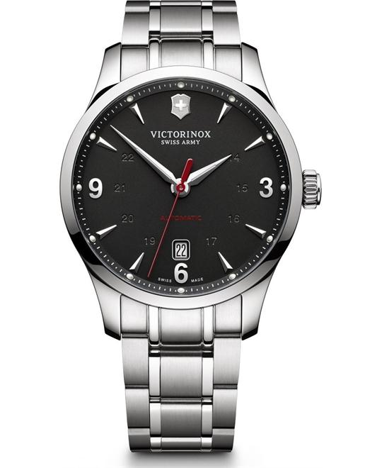 VICTORINOX Alliance Automatic Black Dial Men's Watch 40mm