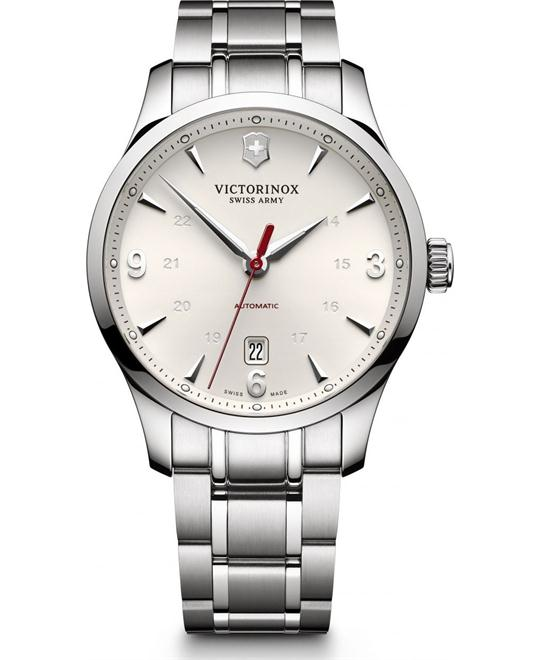 VICTORINOX Alliance Automatic Silver Dial Men's Watch 40mm