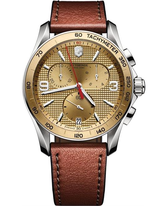 Victorinox Chrono Classic Champagne Watch 41mm