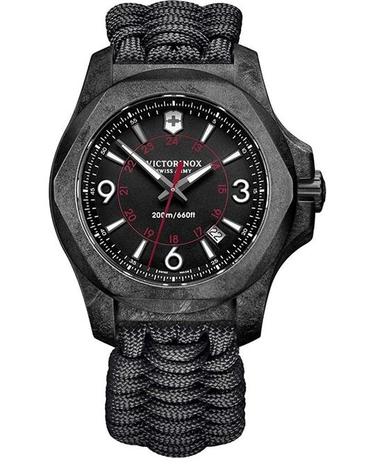 VICTORINOX I.N.O.X. Carbon Paracord Watch 43mm