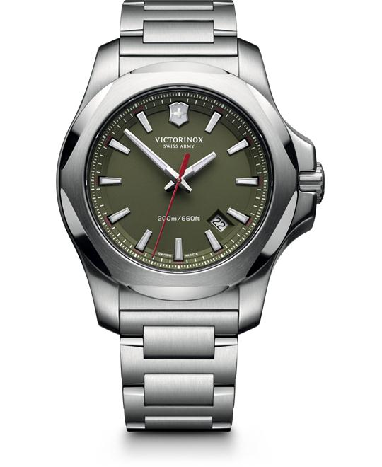 VICTORINOX Swiss Army INOX Green Men's Watch 43mm