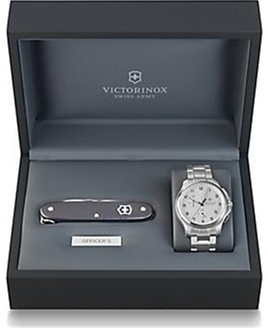 Victorinox Swiss Army Officers Chronograph Watch 45mm