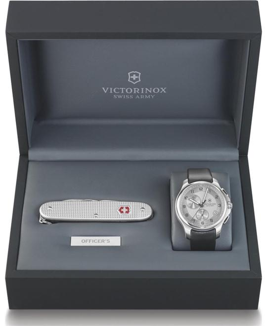 Victorinox Swiss Army Officers Mens Watch 45mm