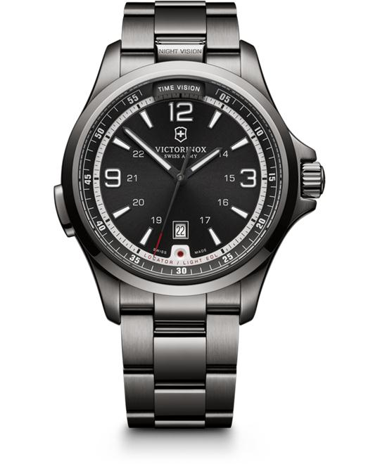 VICTORINOX Swiss Army Night Vision Dark Grey Watch