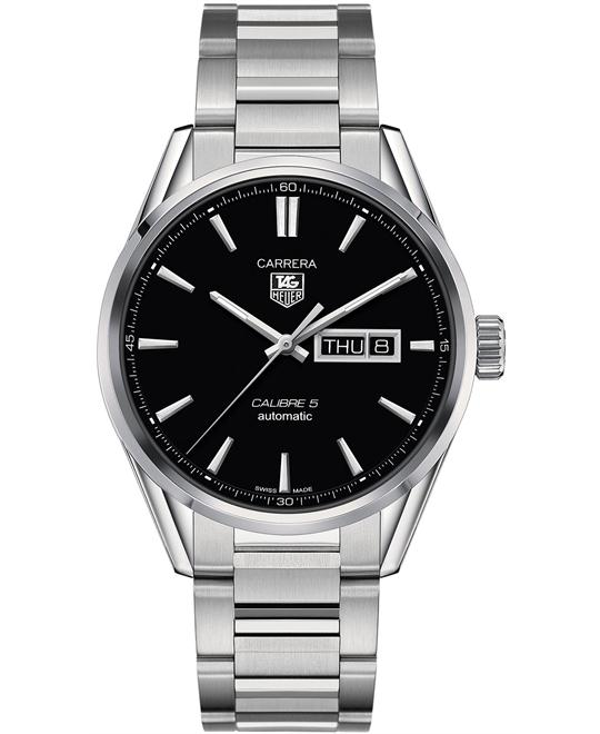 TAG HEUER CARRERA  WAR201A.BA0723 CALIBRE 5 WATCH 41MM