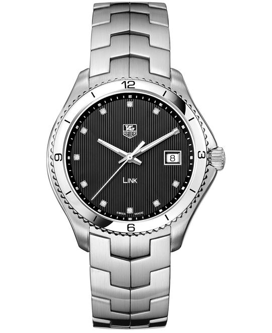 TAG Heuer Link WAT1112.BA0950 Men's Swiss Diamond 40mm