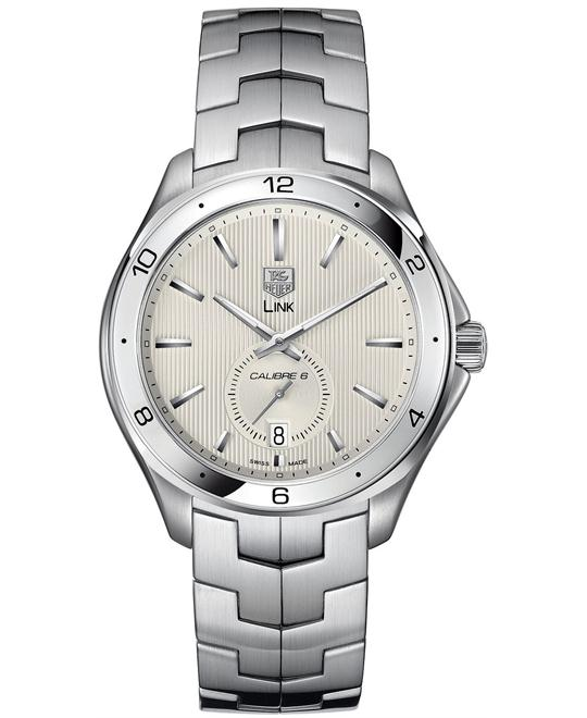 TAG Heuer Link Calibre 6 WAT2111.BA0950 Automatic Watch 42mm