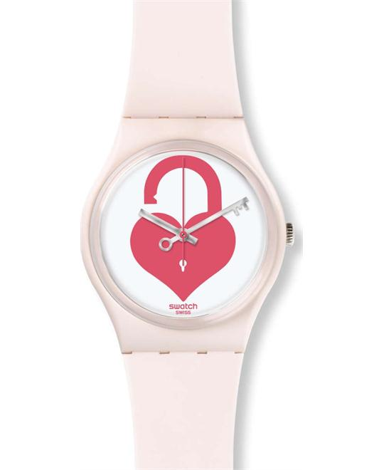 WATCH SWATCH ORIGINALS UNLOCK MY HEART 34MM