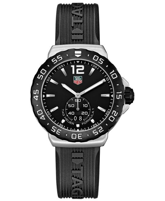 TAG Heuer WAU1110.FT6024 Formula 1 Swiss Rubber Watch 42mm
