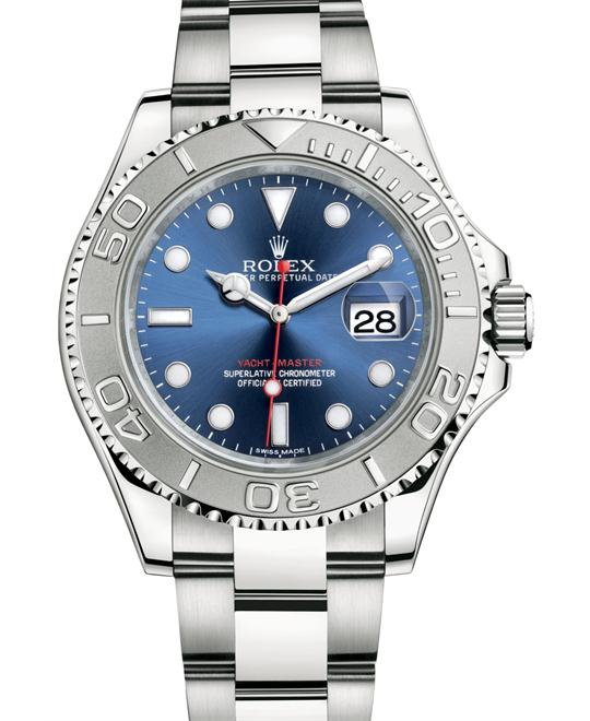 YACHT-MASTER OYSTER STEEL AND PLATINUM 116622-0001, 40 MM