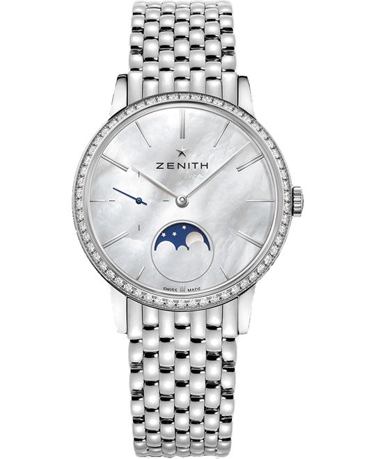 Zenith Elite Lady Moonphase Watch 36mm