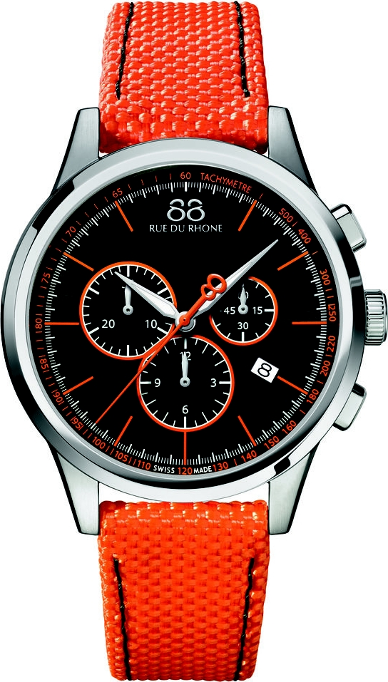 88 Rue Du Rhone Rive Men's Watch 43mm