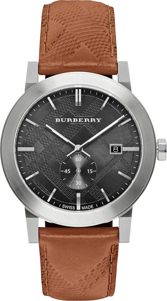 Burberry The City Chronograph Brown Watch 42mm
