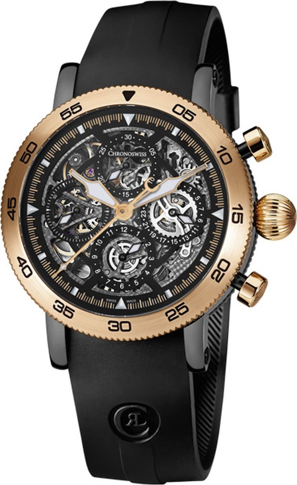 Chronoswiss Chronograph CH-9045RS Skeleton 44