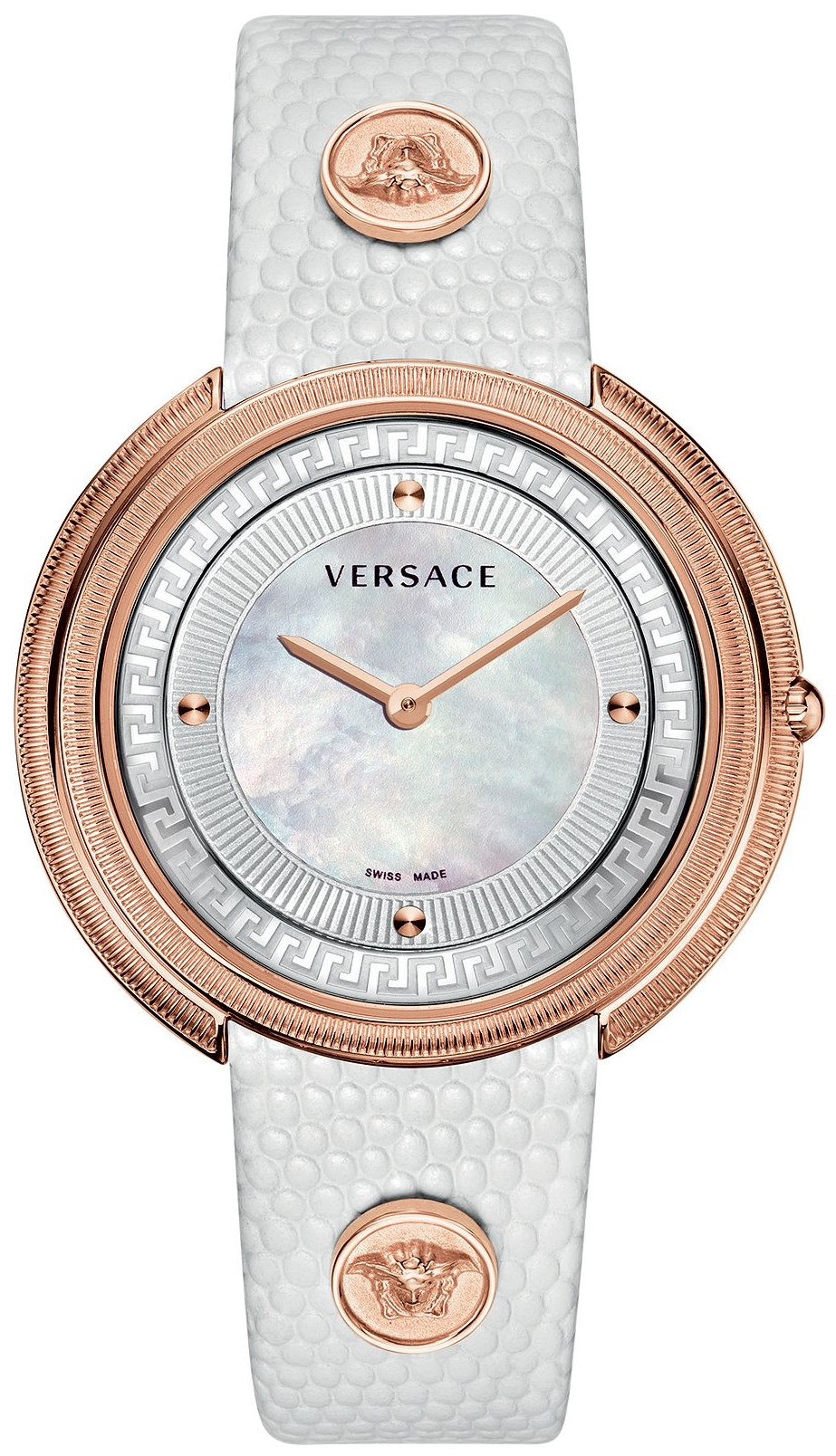 Versace Thea Lizard Embossed Watch 39mm