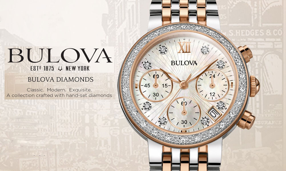 BULOVA - THE LADIE'S DIAMONDS WATCH COLLECTION - MÓN QUÀ VÔ GIÁ