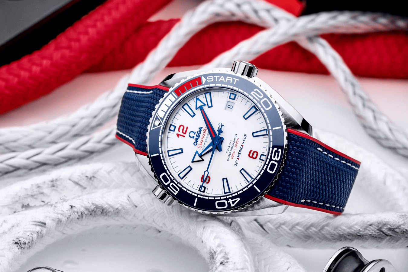 OMEGA SEAMASTER PLANET OCEAN PHIÊN BẢN LIMITED AMERICA'S CUP 36TH
