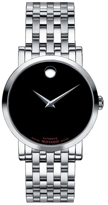 Movado Red Label Mens Watch 38mm