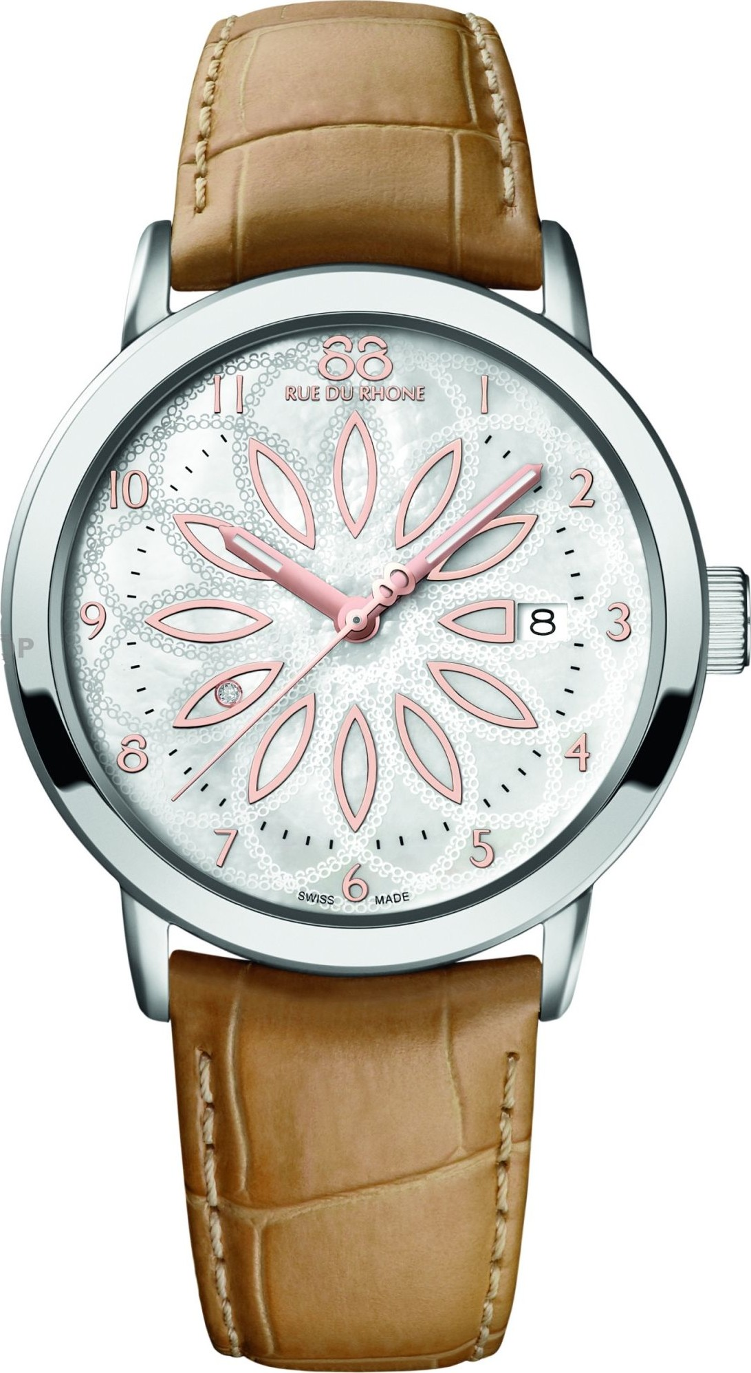 88 Rue du Rhone Ladies diamond Sapphire Watch 39mm