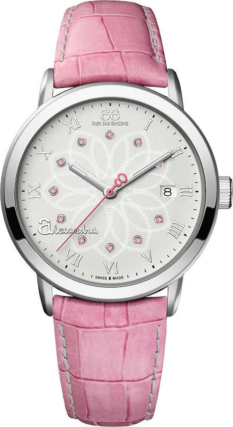 88 Rue du Rhone Women's Double 8 Analog Swiss Watch 38mm