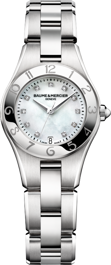 Baume & Mercier Linea 10011 Diamond Watch 27