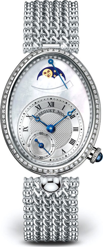 Breguet Reine de Naples Ladies Watch 28.45mm X 36.5mm