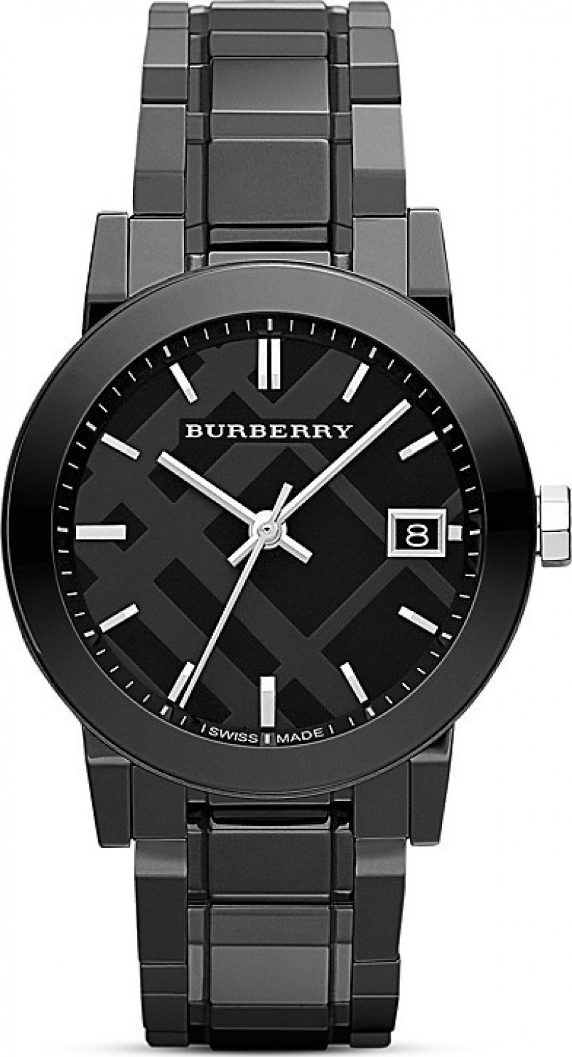 Burberry Black Ceramic Women's Watch 34mm