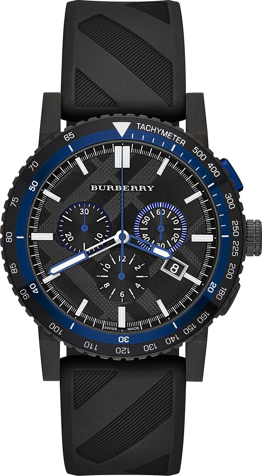 Burberry The City Men's Swiss Chronograph Rubber 42mm