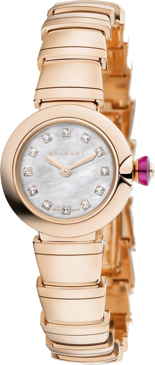BVLGARI PICCOLA LVCEA 102502 LUP23WGG/12 WATCH 23MM