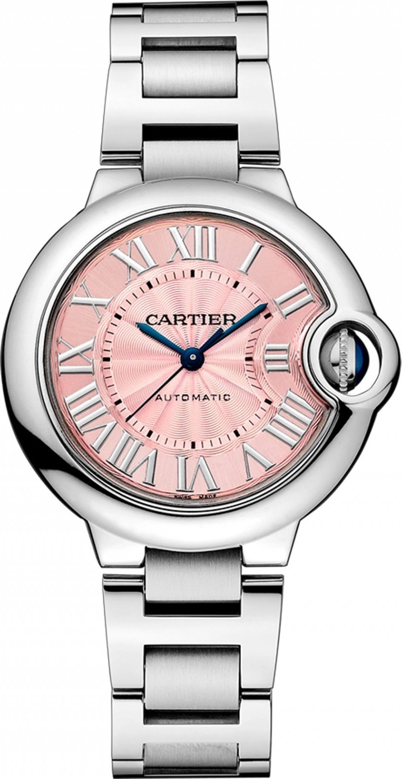 CARTIER Ballon Bleu w6920100 Auto Watch 33mm