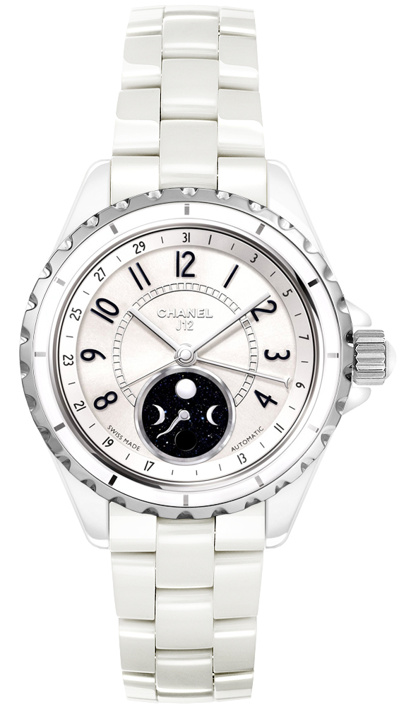Chanel J12 H3404 Moon Phase Watch 38