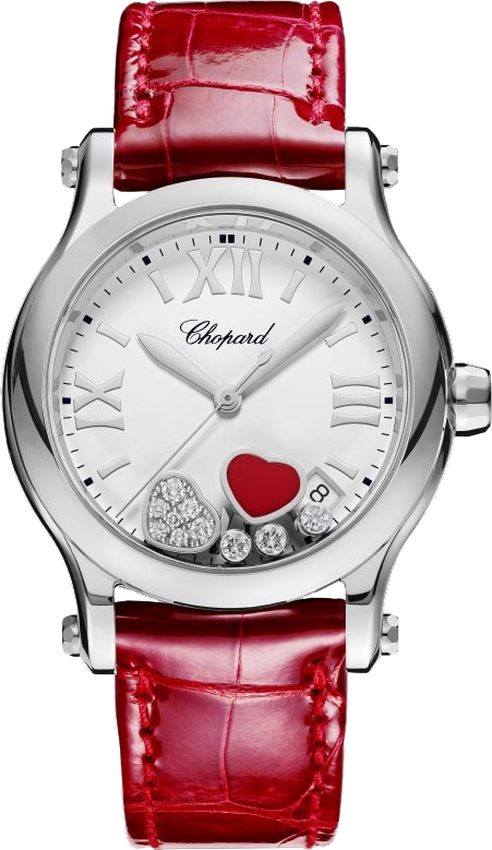 Chopard Happy 278582-3005 Sport Round Watch 36mm