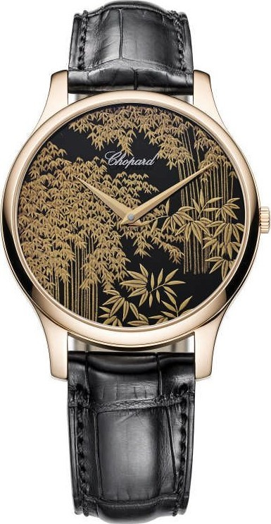 Chopard L.U.C Xp 161902-5055 Urushi 18k Rose Gold 39.5