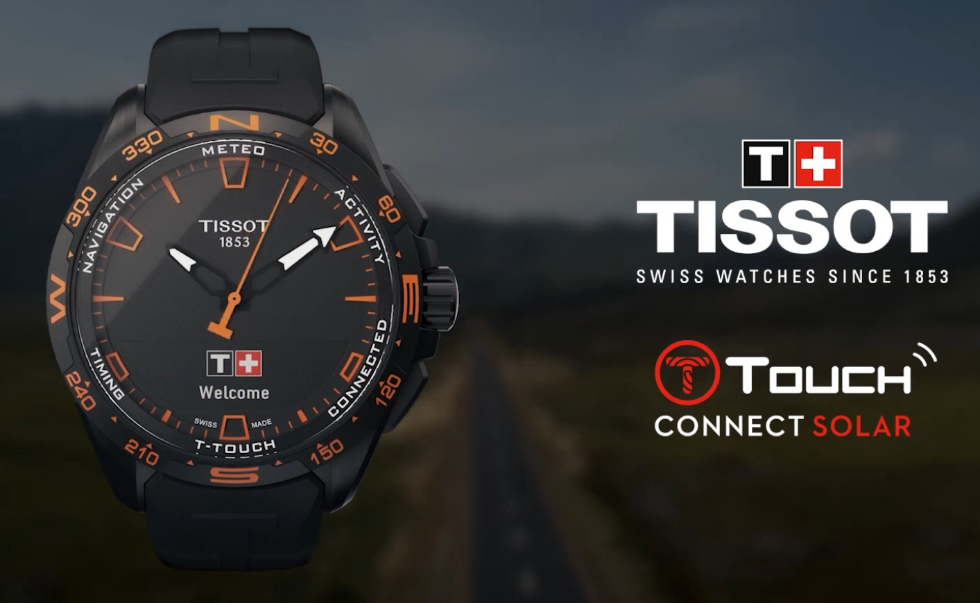 TISSOT T-TOUCH CONNECT SOLAR SMARTWATCH - ĐỒNG HỒ THÔNG MINH 2020