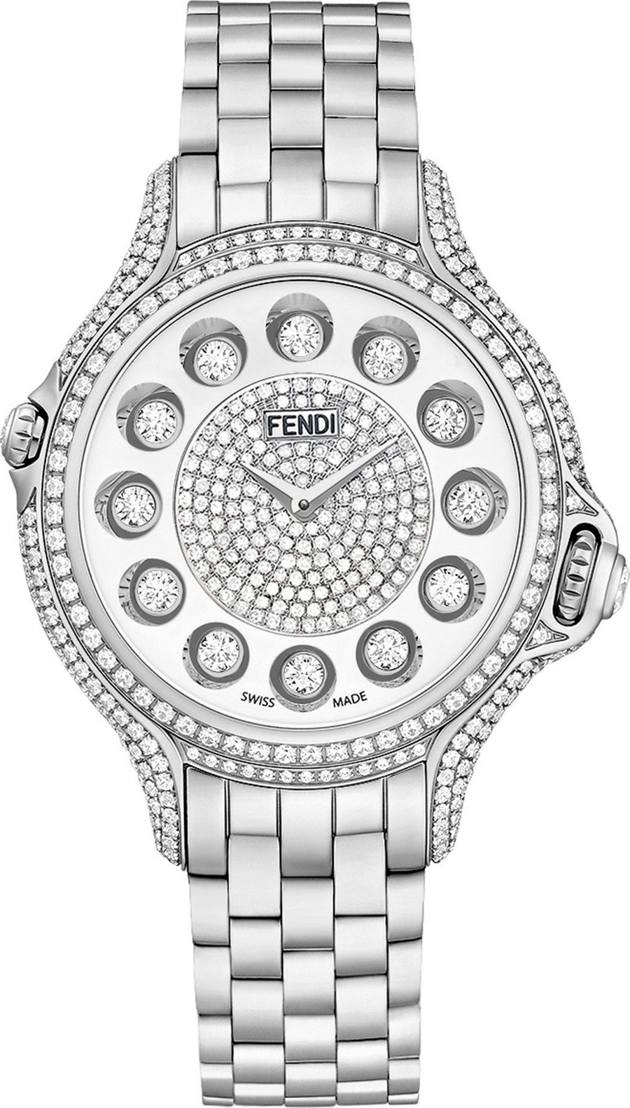 Fendi Crazy Carats F107034000P4P02 Watch 38mm