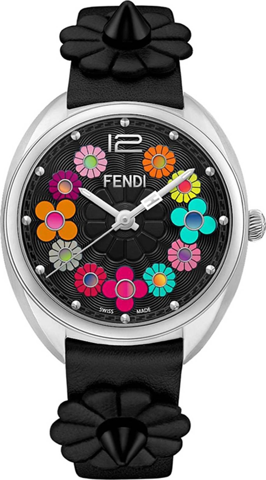 Fendi Momento Flowerland F234031011 Watch 34mm