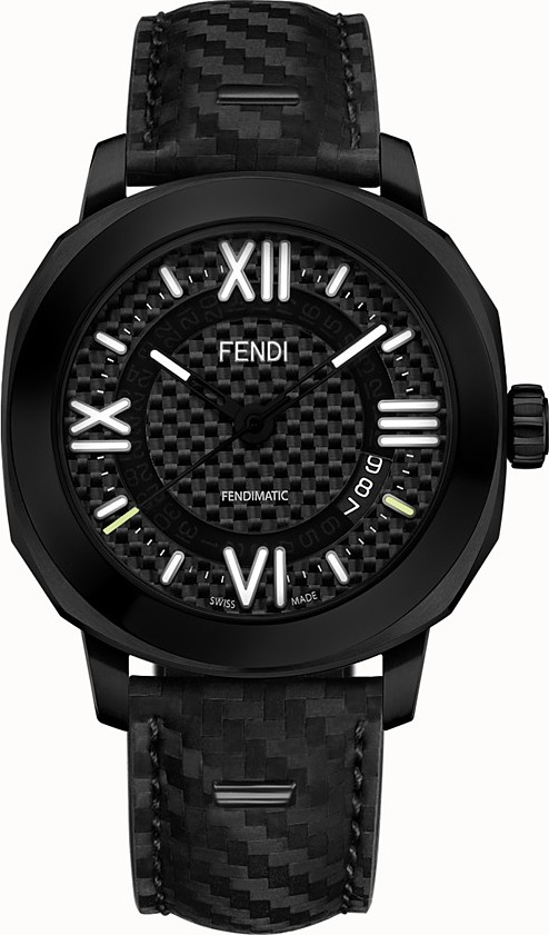 Fendi Selleria FOR397QW5F0ZNJ Watch 42mm