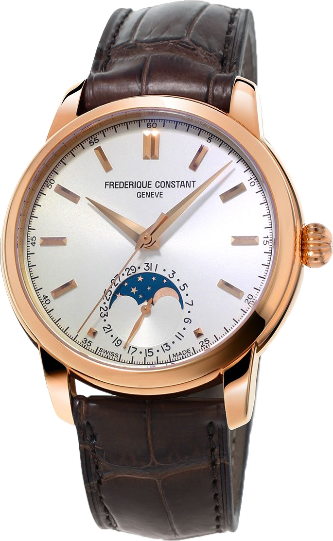 Frederique Constant Classic FC-715V4H4 Moonphase Watch 40.5mm