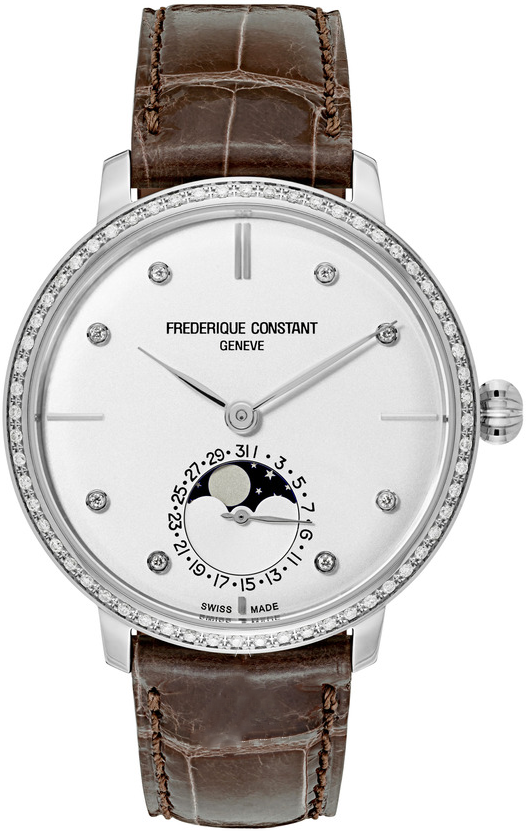 Frederique Constant FC-703SD3SD6 Slimline Moonphase 38.8mm