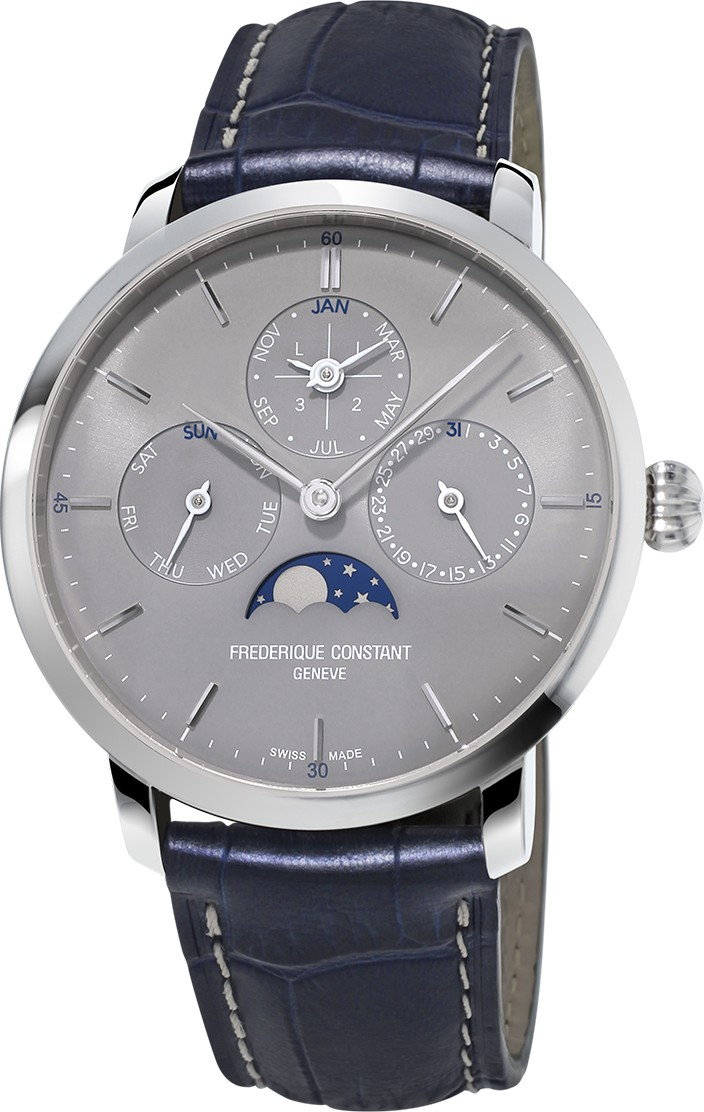 Frederique Constant Slim Line FC-775G4S6 Perpetual Watch 42mm